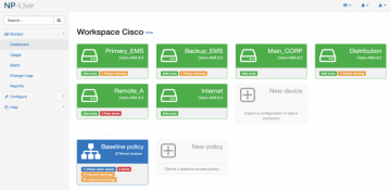 Image of NP-Live cybersecurity software tool