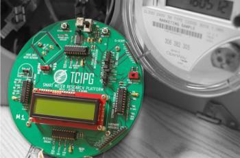 photo of smart meter equipment