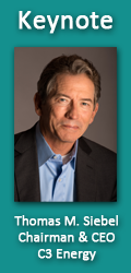 Keynote: Thomas M. Siebel, C3 Energy
