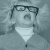placeholder image of child with electrified expression and hair.